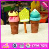 2016 Wholesale Baby Wooden Ice Cream Toy, DIY Kids Wooden Ice Cream Toy, Role Play Kids Wooden Ice Cream Toy W10b170
