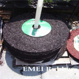 Rubber Mulch Tree Ring for Garden and Park