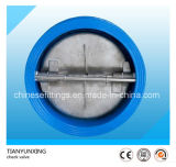 Cast Steel Body Butterfly Dual Plate Wafer Check Valve