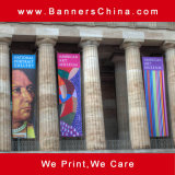 Outdoor Advertising Hanging Flag Banner