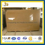 China G682 Sunset Yellow Granite Slab for Countertop and Tile