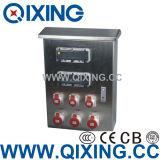 IEC Plastic Combination Socket Box