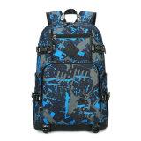 Canvas School Backpack Laptop Bag Backpack Bag Yf-Pb0206