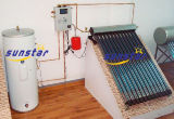 Separate Pressurized Solar System Heat Pipe