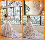 Strapless Wedding Dress Sweetheart A-Line Rhinestones Bridal Wedding Gown Y21431L