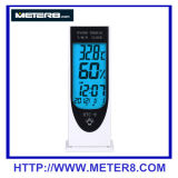 HTC-8 Luminous Temperature and Humidity Meter Clock