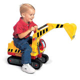 Children Toy Excavator
