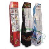 Cardboard Display Shelf for CD/DVD Show