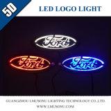 Car 5D LED Logo Badge Light for Ford