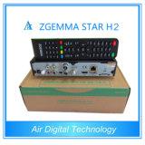 Original Zgemma-Star H2 Combo DVB-S2+T2/C HD Receiver