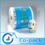Custom Printed Plastic Packing Roll Film for Food Packaging