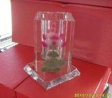 Crystal Rotatable Pencil Vase Crafts