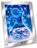 Crystal Advertising Magic Mirror Light Box