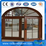 High Quality Classical Solid Wooden Aluminum Clad Wood Composite Window