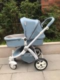 Baby Stroller 2 in 1 Winter Style of Blue Color