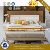 2016 Hot Sale Double Bed with Solid Wood Frame Bedroom Furniture (HX-8NR0836)