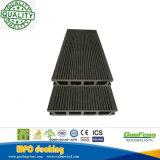 Outdoor Eco-Friendly Wood-Grain Hollow Water-Proof WPC Decking (K26-146)