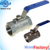1000 Psi Reduced Bore 1-PC Ball Valve with Locking Device