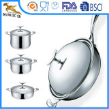 SS304 5ply Stainless Steel Cookware Set Nonstick (WAC-2030)
