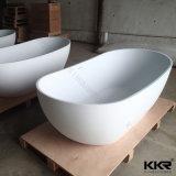 Kingkonree Artificial Stone Free Standing Bath Tub