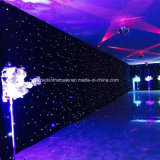 Event Backdrop LED Star Light Curtain Dance Stage Decoration