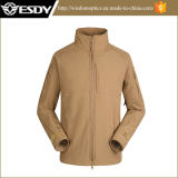 Tan Military Men′s Officer Waterproof Commander Softshell Jacket