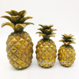 Resin Artificial Fruit Pineapple for Home Decoration