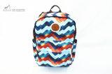 Lespack Wave Print Large Capacity Backpack