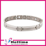 Custom Sports Magnetic Stainless Steel Bracelet with Your Logo