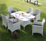 Outdoor Rattan Bar Sets-6PC Outdoor Rattan Dining Set