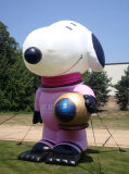 Giant Inflatable Cartoon Character Snoopy for Outdoor