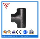SMS Sanitary Stainless Steel Pipe Fitting Weld Equal Tee
