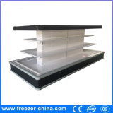 Around Open Remote Type Commercial Fruit Vegetable Refrigerated Display Showcase