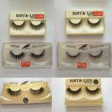 3D Faux Mink Double-Layered Silk Lashes Synthetic Fake Eyelashes