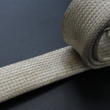 Pyro Resistant High Temperature Vermiculite Coated Braided Fiberglass Sleeve