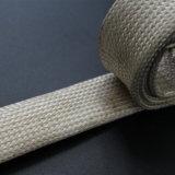 Pyro Resistant High Temperature Vermiculite Coated Braided Fiberglass Sleeve