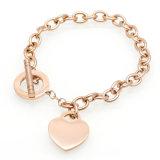 Stainless Steel 316L Heart Bracelet for Women