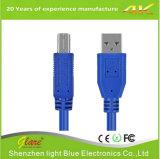 Blue Color Printer Cable USB3.0