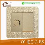 Bangladesh Market 1 Switch +1fan Speed Control Switch