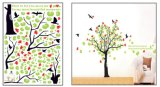 Growing Tree Wall Sticker Children Room Decoration