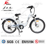 "26"" Aluminum Alloy Frame 36V White Electric Bike CE (JSL038XB-2)"