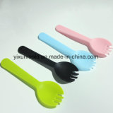 Customized Fruits Fast Food Ecofriendly Plastic Injection Fork