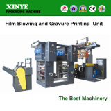 Polyethylene Plastic Film Blowing and Gravure Printing Machine Price