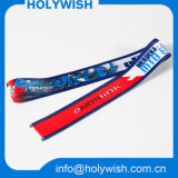 Popular Wholesale Printed Lanyard Ribbon with Heat Transfer Logo