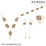 64017 Fashion Special Eye Design Jewelry Set with Gold-Plated