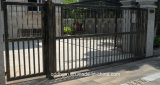 Residential/Commercial Multifunctional Wrought Iron Driveway Sliding Gate
