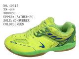 Green Color Men Soccer Shoes