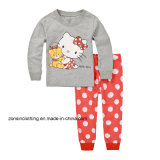 Two-Piece Cartoon Patterned Home Wear Suit T-Shirt
