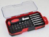 Multifunctional 33PC Screwdriver Bits Set with Mini Rachet