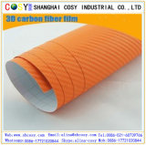 3D Carbon Fibre Vinyl Wrap for Motorcycle and Car with Good Quality for Decoration